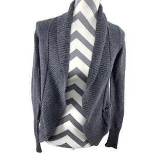Silence + Noise Open Front Cardigan
